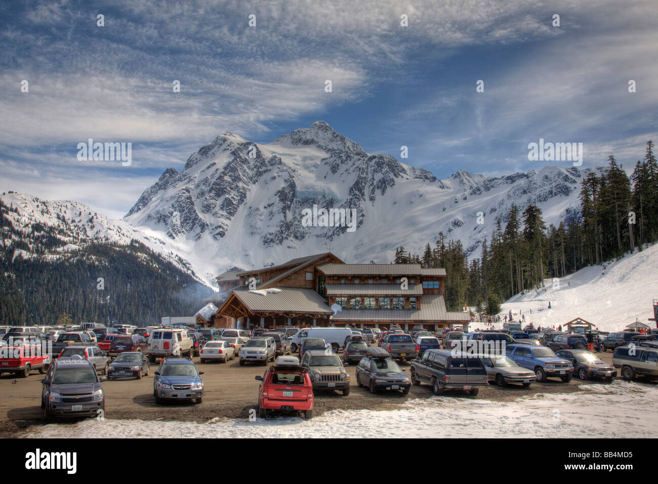 Super WA, Mount Baker Ski Area, White Salmon Lodge, and Mount Shuksan  QK22
