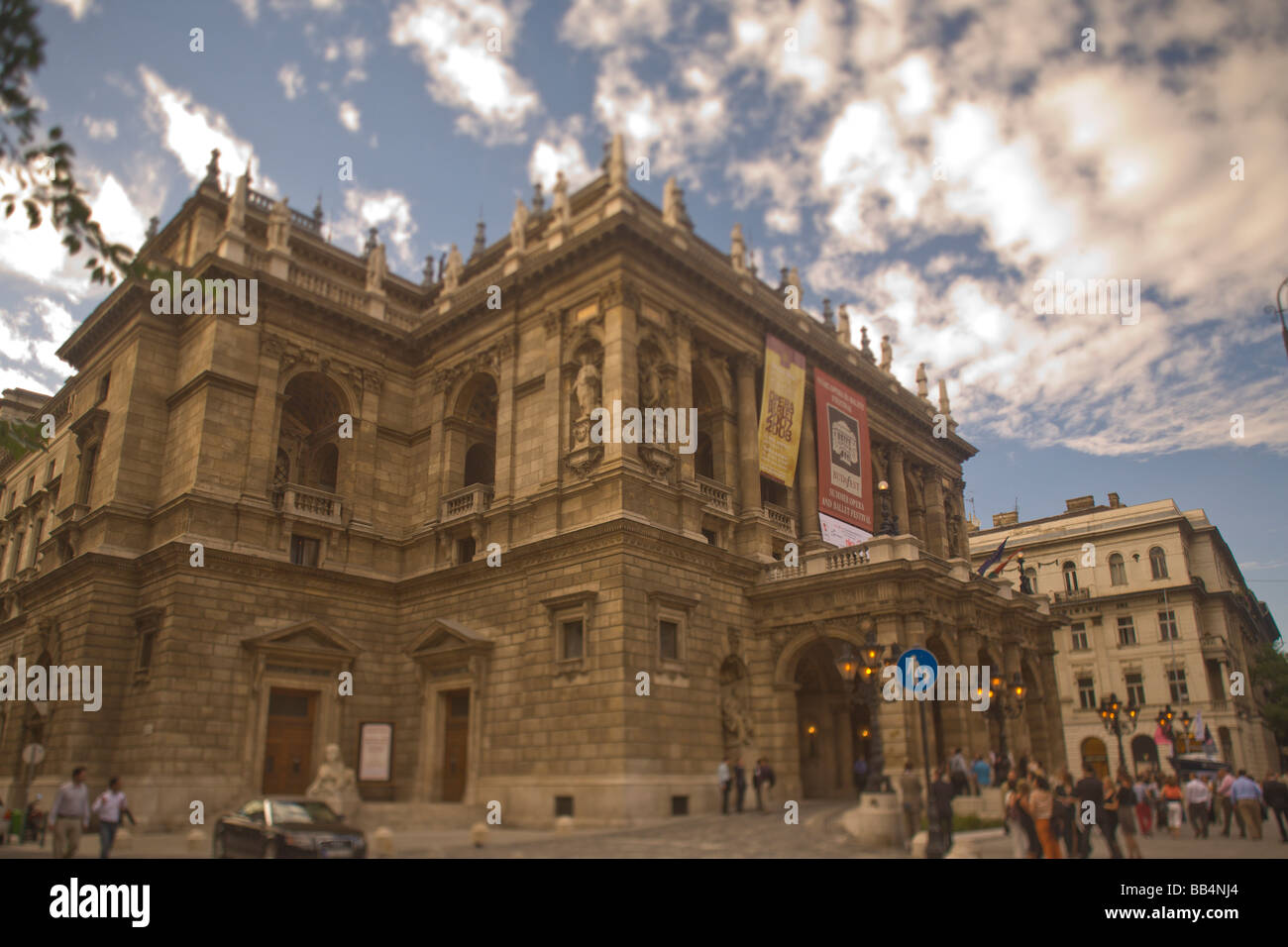 HUNGARY, Budapest. Allami Operahaz (State Opera House) (RF) - Stock Image