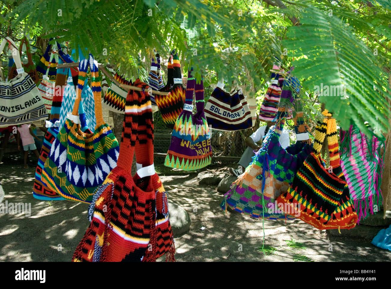 The Bilum Tree, Honiara, Solomon Islands - Stock Image