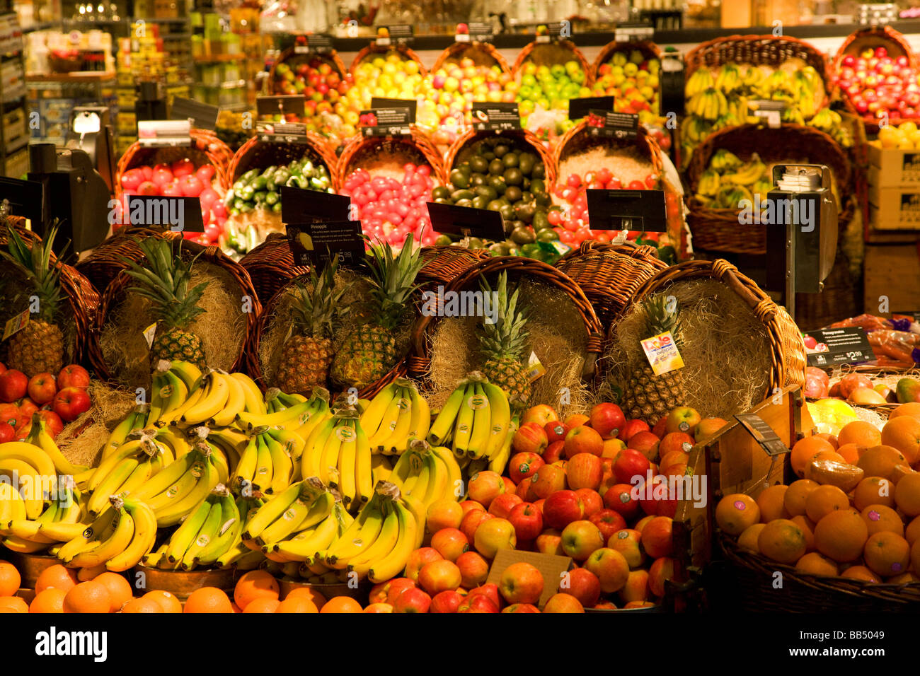 The grocery store Urban Fare in the town that will host the 2010 Winter Olympics Vancouver British Columbia Canada - Stock Image