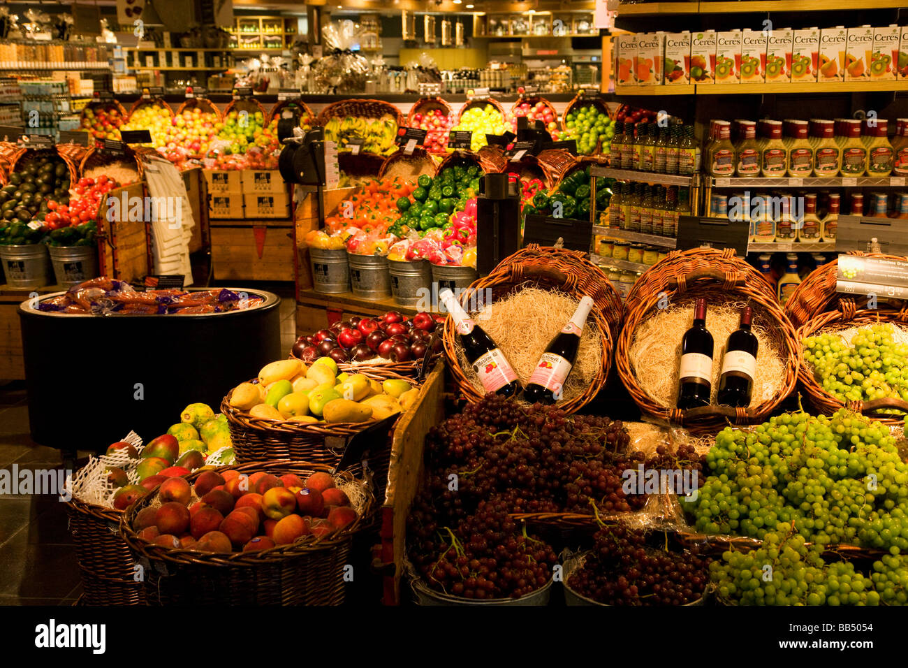 The grocery store Urban Fare in the town that will host the 2010 Winter Olympics Vancouver British Columbia Vancouver - Stock Image