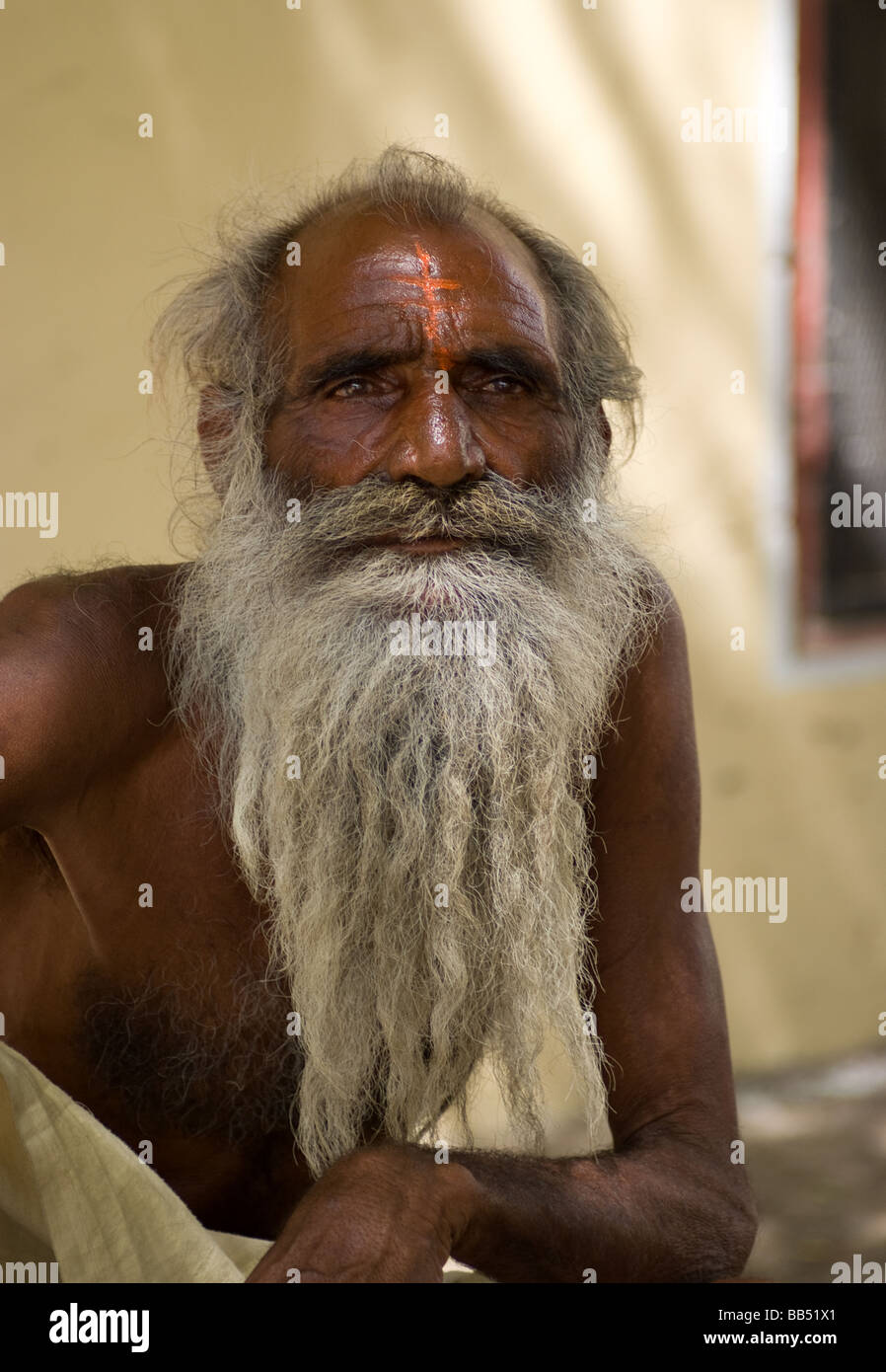 old indian white bearded man stock photos old indian white bearded