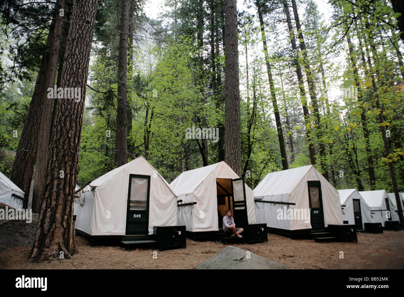 yosemite national park camping stock photos & yosemite national park