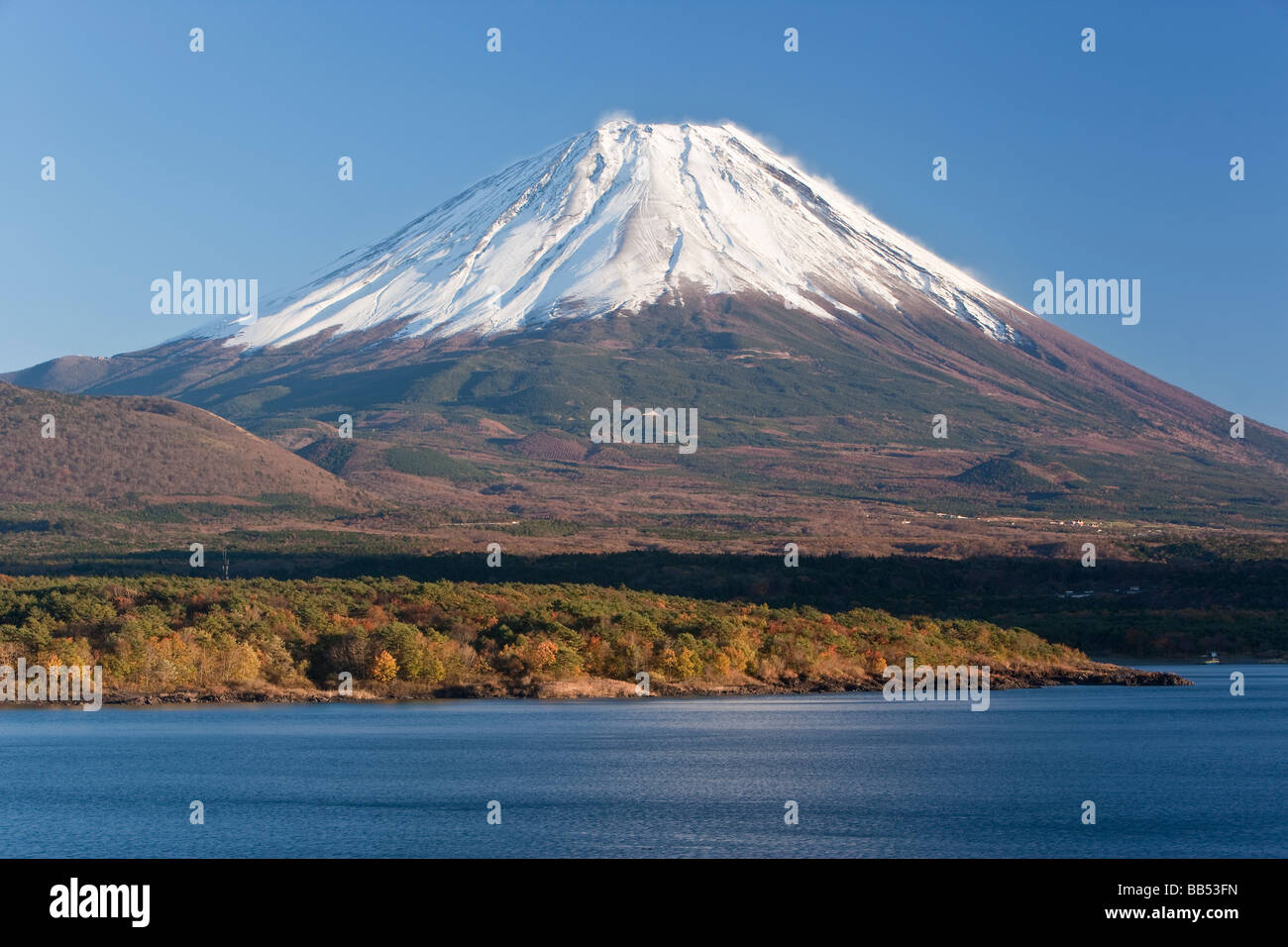 Japan, Central Honshu, Chubu, Fuji-Hakone-Izu National Park, Mount Fuji - Stock Image