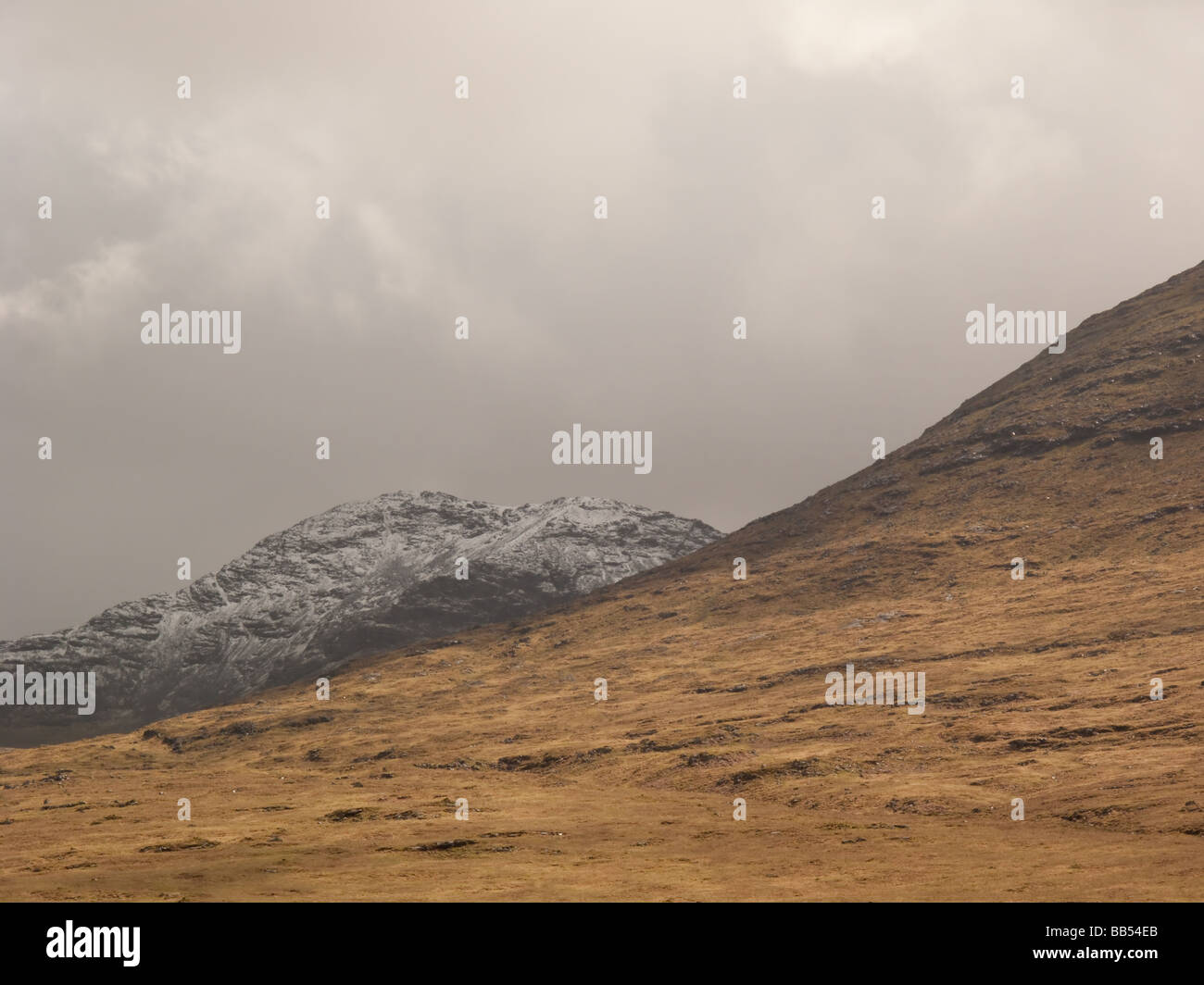 Ben More, tallest mountain on the Isle of Mull, Scotland - Stock Image