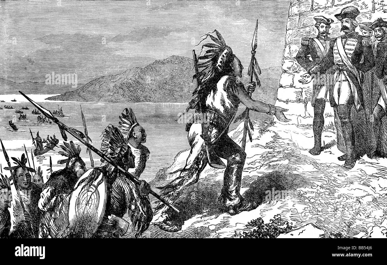 French And Indian War Stock Photos & French And Indian War Stock