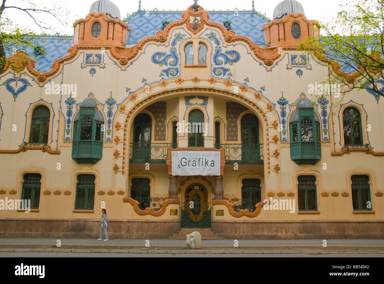 Art Nouveau Style Modern Art Gallery In At Lenin Square In
