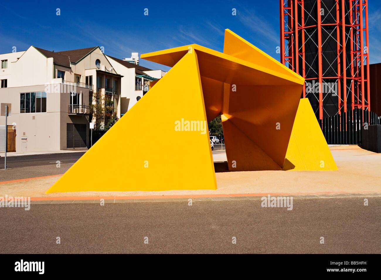 Melbourne Sculptures / The 'Vault sculpture' is one of Melbourne`s 'Public Art' sculptures.Melbourne - Stock Image