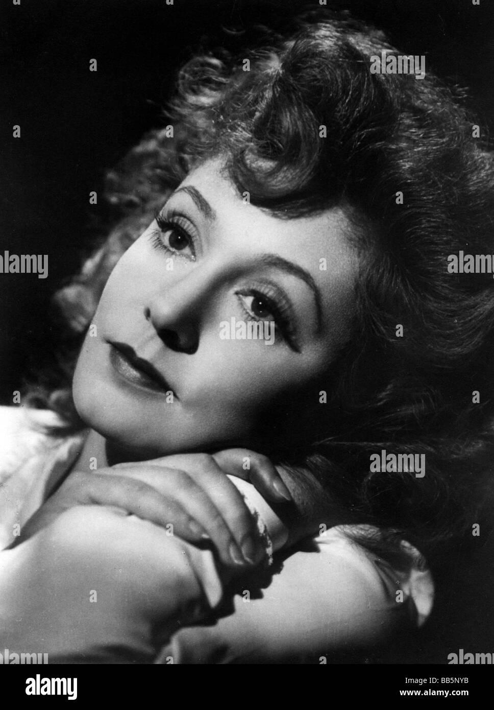 Leander, Zarah, 15.3.1907 - 23.6.1981, Swedish actress and singer, portrait, 1940s, Additional-Rights-Clearances - Stock Image
