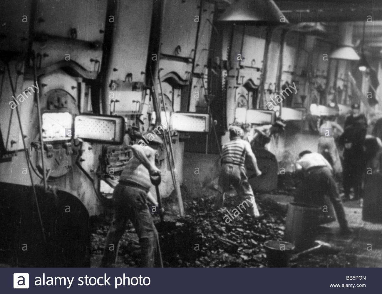 Boiler Room Scene