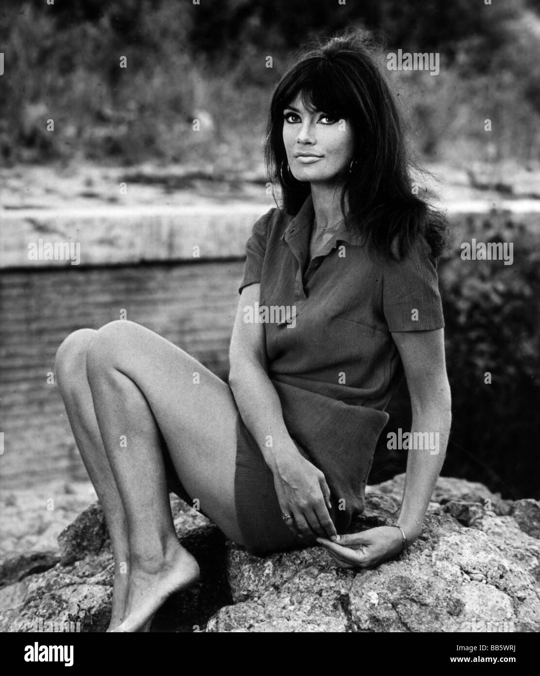 Mell, Marisa, 24.2.1939 - 16.5.1992, Austrian actress, half length, 1960s, Additional-Rights-Clearances-NA - Stock Image
