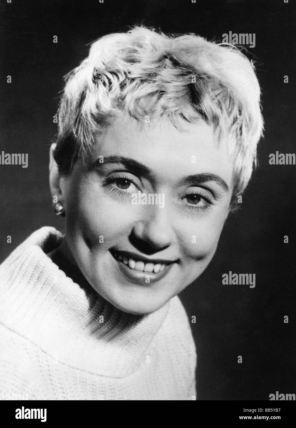 Koenig, Johanna, 27.3.1921 - 3.3.2009, German actress, portrait, circa 1950, Additional-Rights-Clearances-NA - Stock Image
