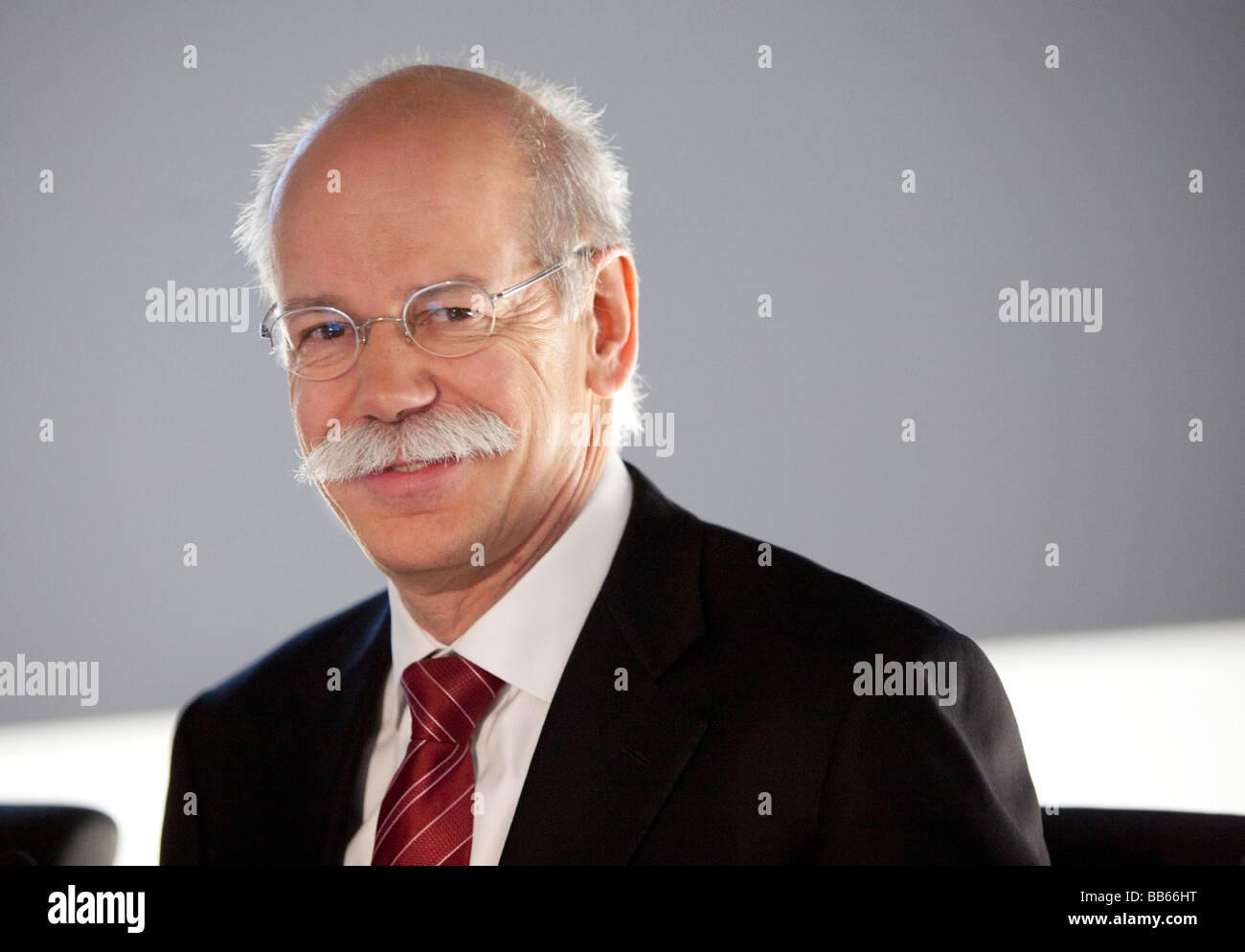 Dieter ZETSCHE CEO of Daimler AG - Stock Image