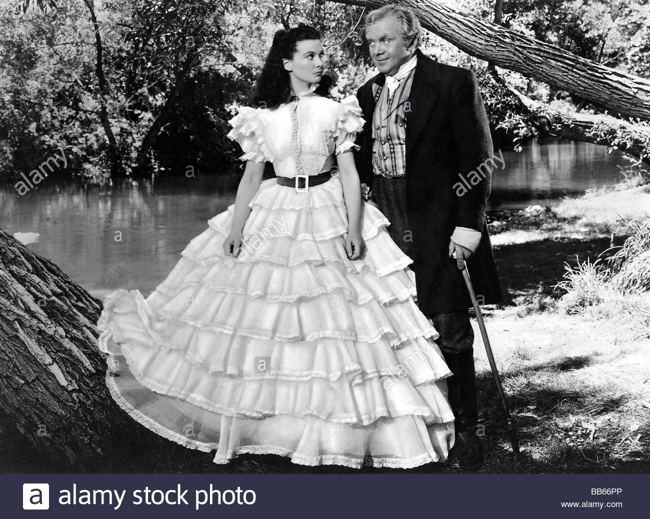 Vivien Leigh Gone With The Wind Dress Stock Photos & Vivien Leigh ...