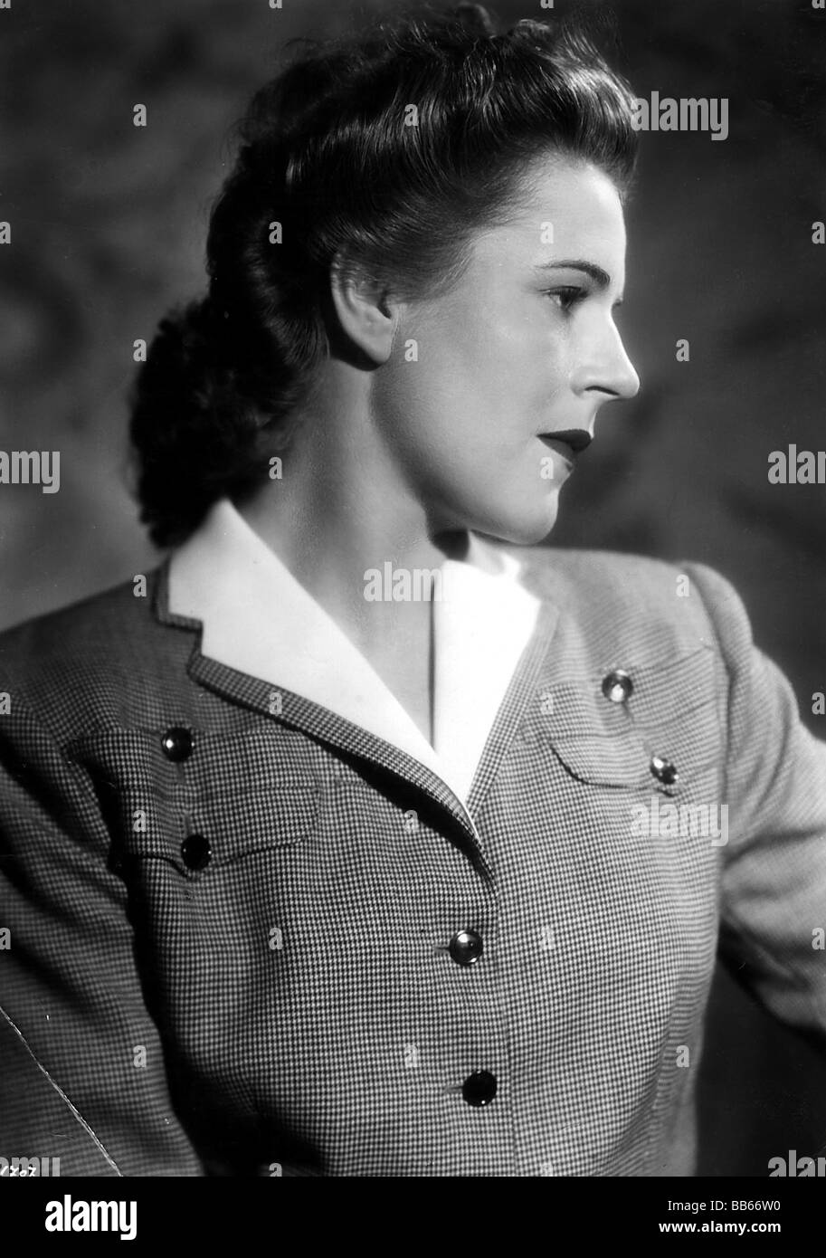 Wessely, Paula, 10.1.1907 - 11.5.2000, Austrian actress, portrait, 1930s, Additional-Rights-Clearances-NA - Stock Image