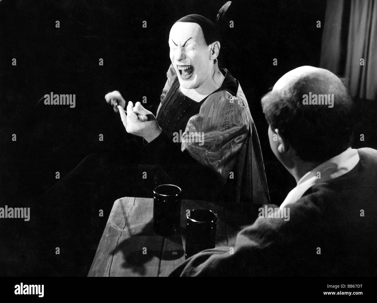 Gruendgens, Gustaf, 22.12.1899 - 7.10.1963, German actor and director, as Mephistopheles in 'Faust' by Johann - Stock Image