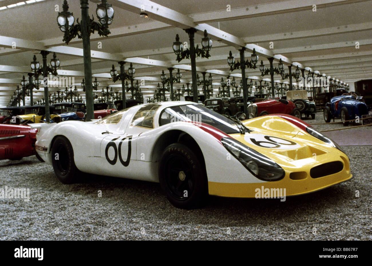 sport, car racing, racing cars, Porsche 908/3, 1968, sports car, Collection Schlumpf, National Automobile Museum, - Stock Image