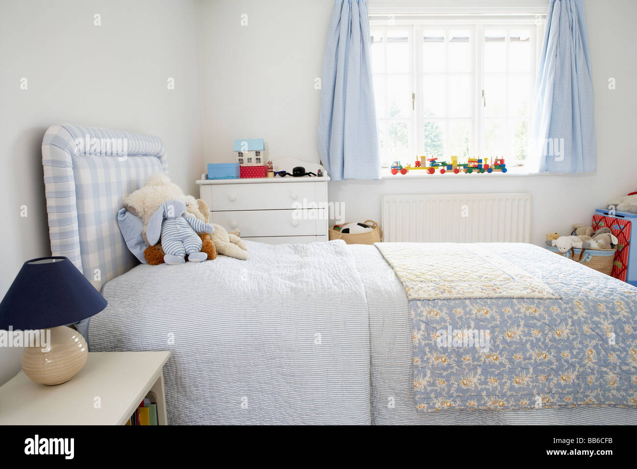 Interior Of Child's Bedroom - Stock Image