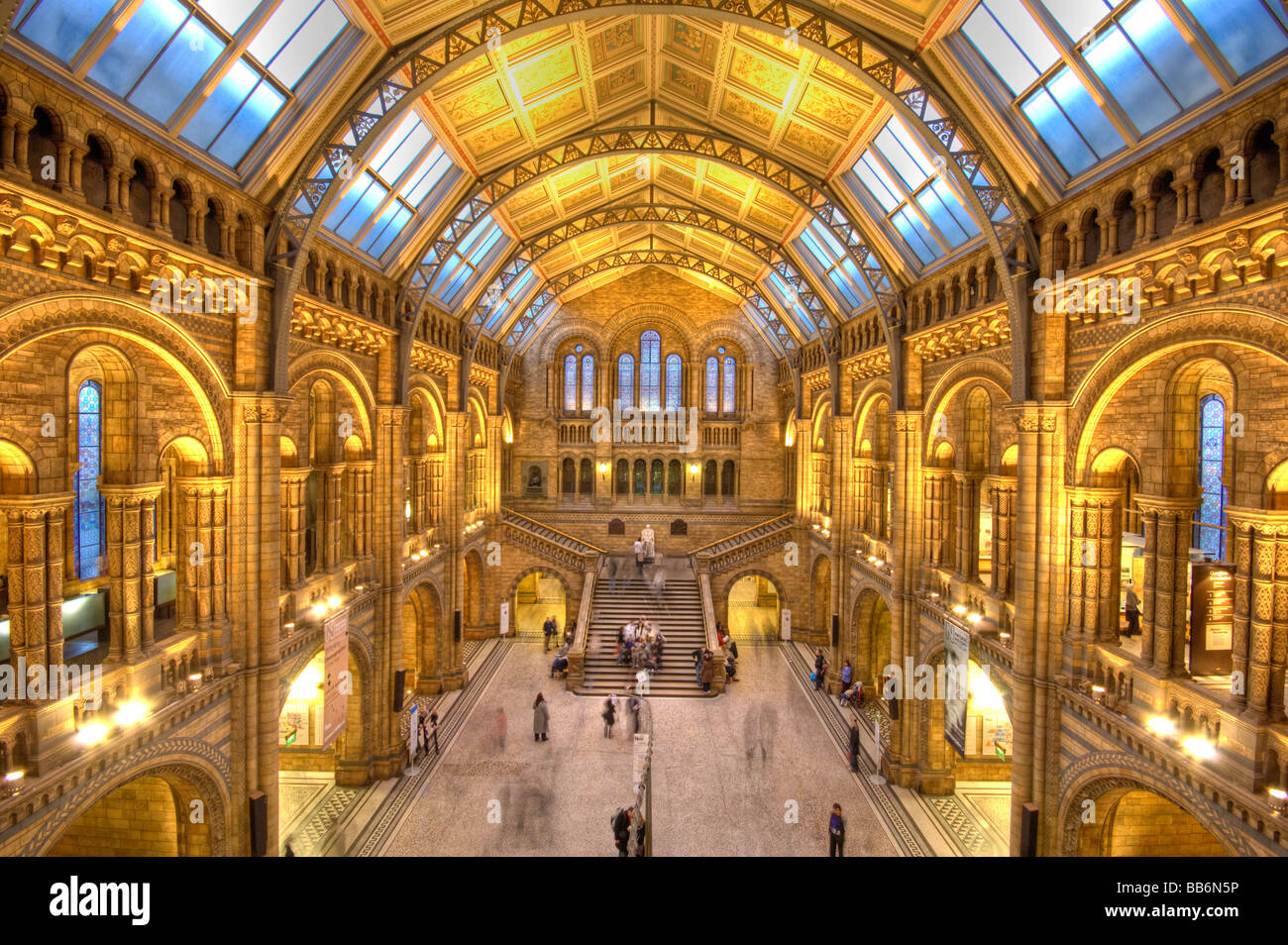 natural history museum london england uk - Stock Image