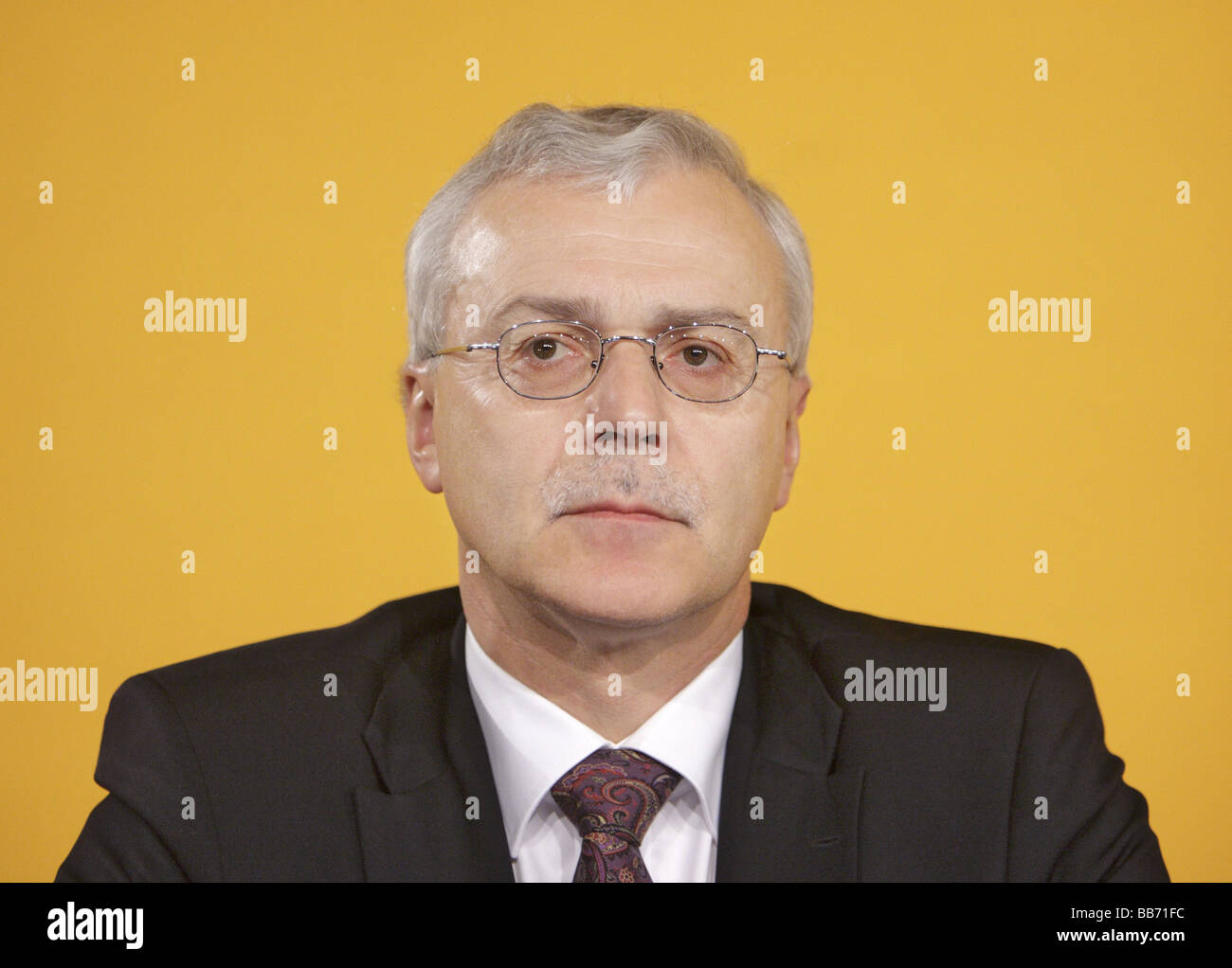 Heinz Gerhard WENTE member of the board of Continental AG - Stock Image