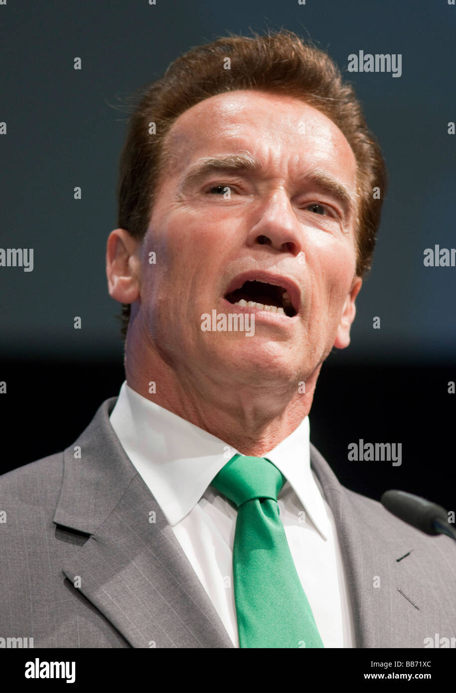 Arnold SCHWARZENEGGER Governor of the state of California - Stock Image