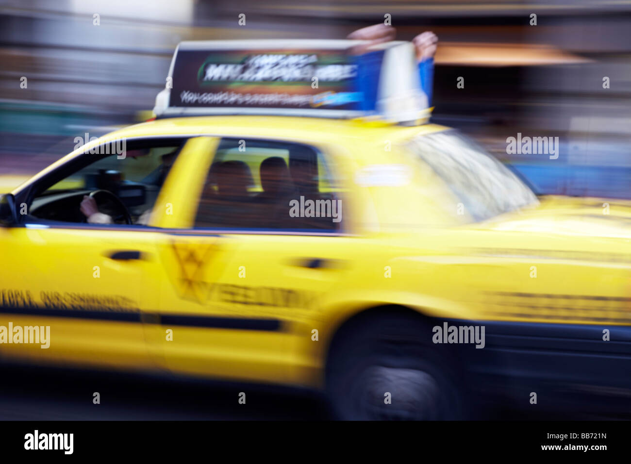 taxi detail, San Francisco - Stock Image
