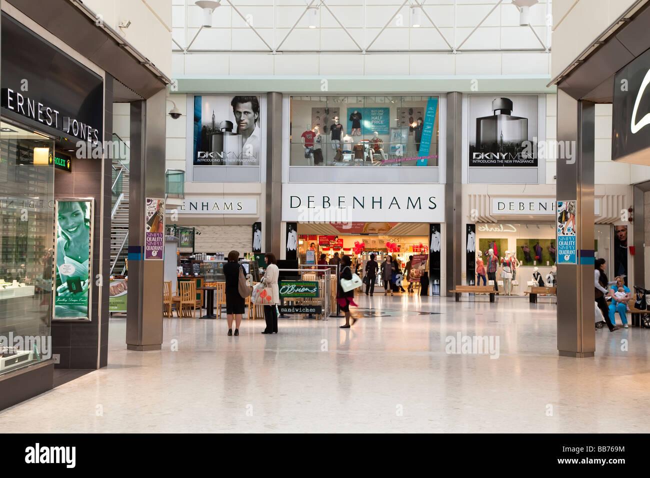 Shopping centre Swansea Wales UK - Stock Image