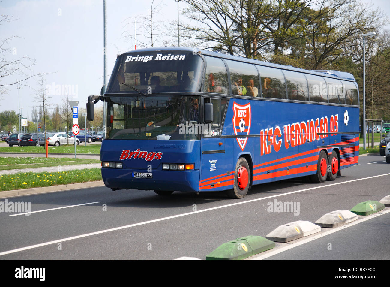 D-Krefeld, Lower Rhine, North Rhine-Westphalia, D-Krefeld-Uerdingen, sports, football, Lower Rhine Liga, 2008/2009, - Stock Image