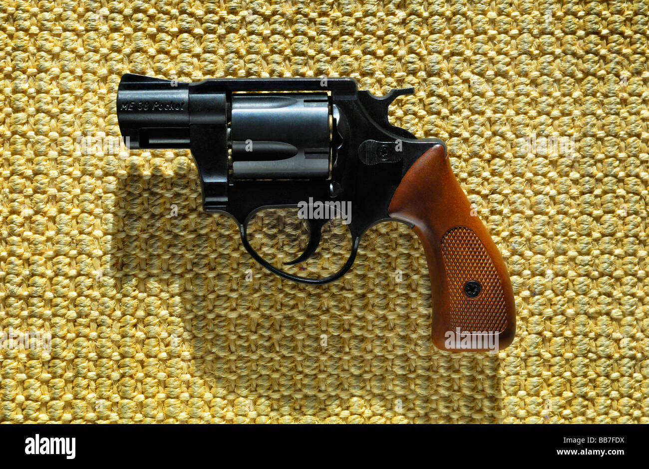 Alarm pistol Kal. 9 mm, Germany, Europe - Stock Image