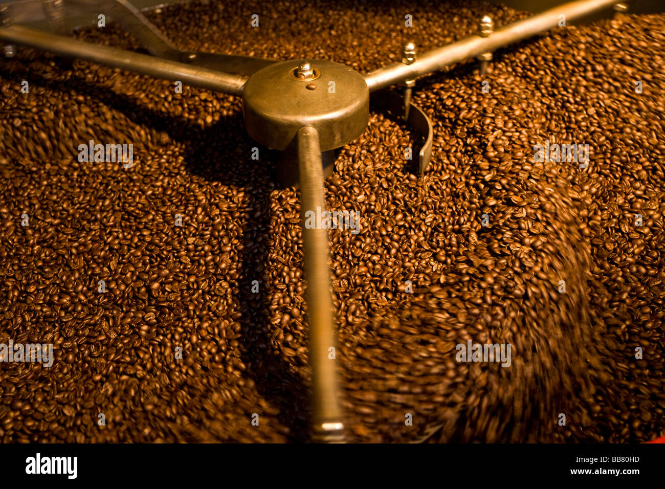 Andraschko Coffee Manufacturers, coffee roasters, Berlin, Germany - Stock Image
