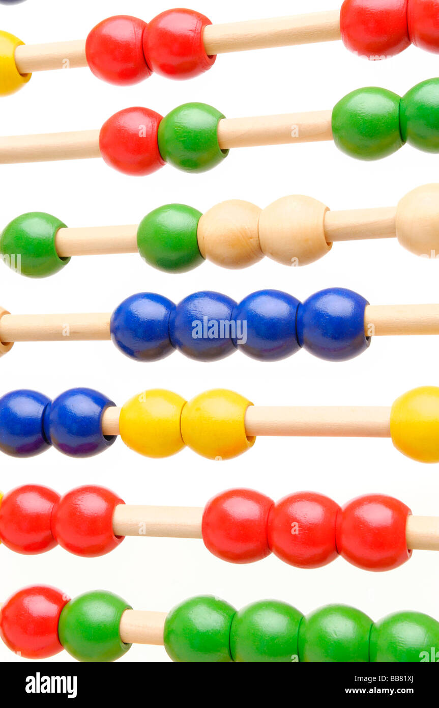 Abacus, counting frame Stock Photo
