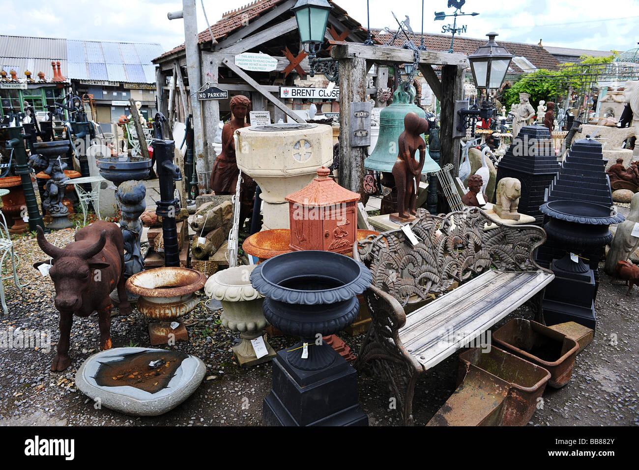 Wells Reclamation Yard Stock Photo 24153555 Alamy