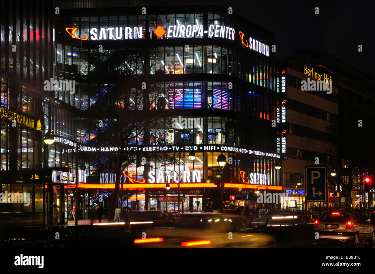 Electronics specialty retailer Saturn flagship store in the