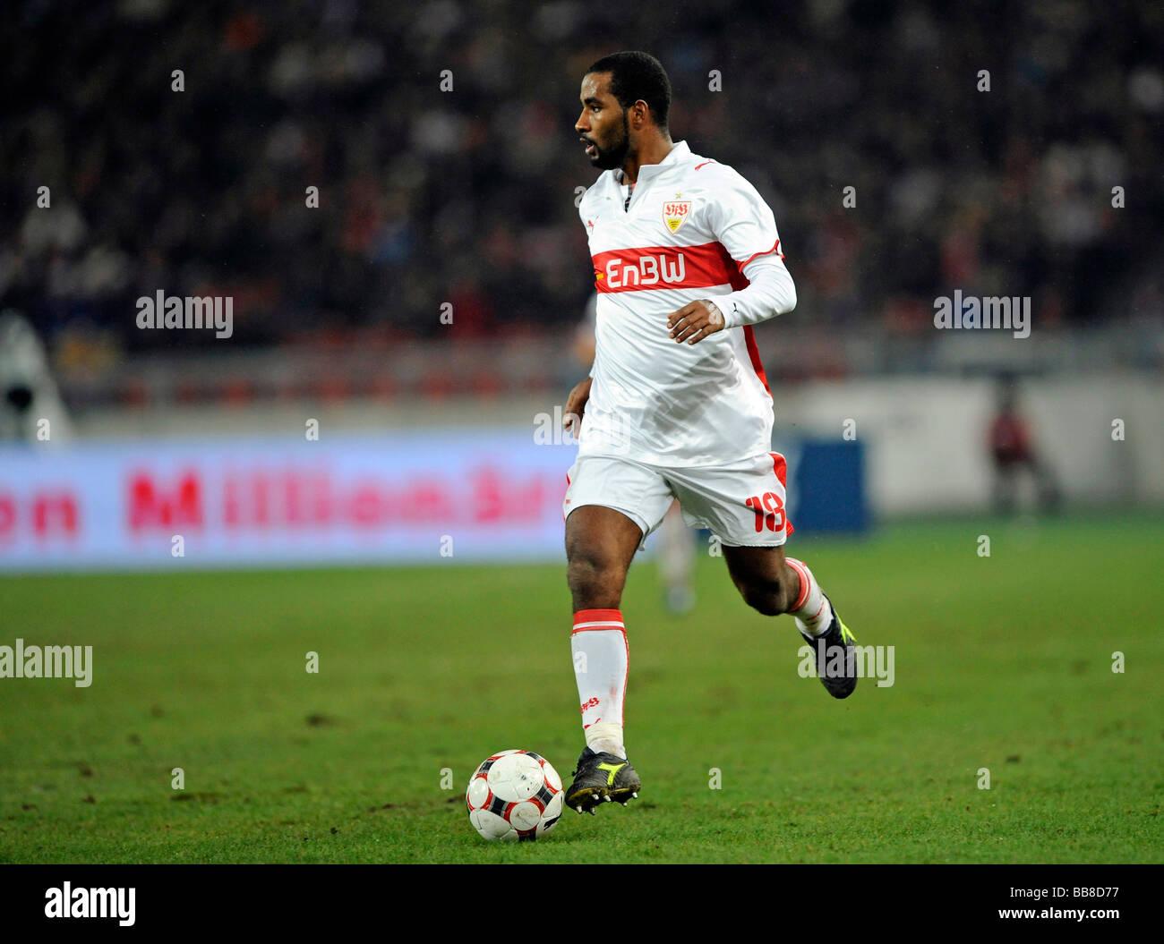 CACAU, VfB Stuttgart, with the ball - Stock Image