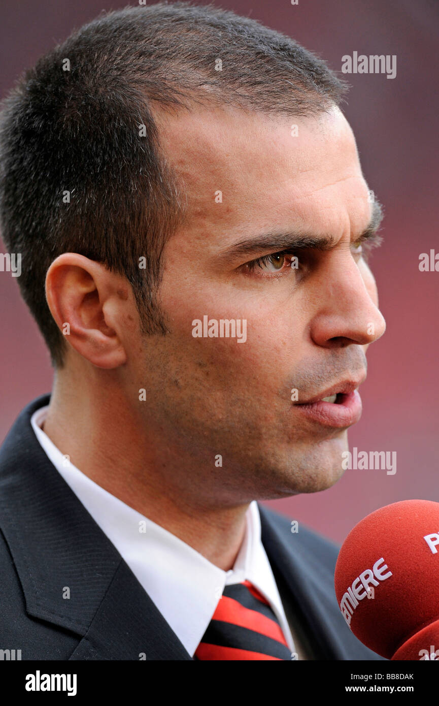 Coach, manager Markus Babbel, VfB Stuttgart - Stock Image