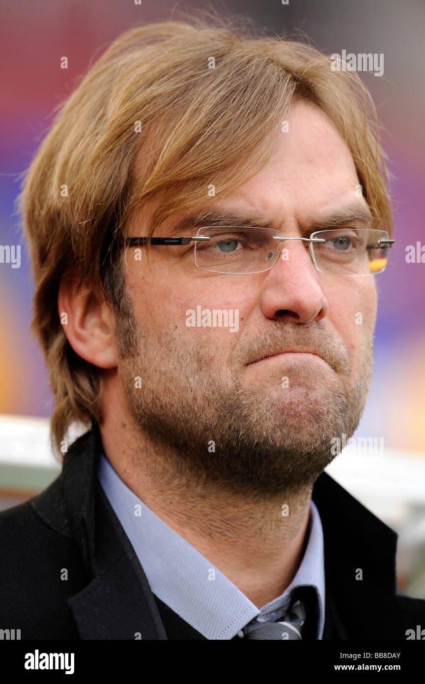 Juergen Klopp, coach of BVB Borussia Dortmund - Stock Image