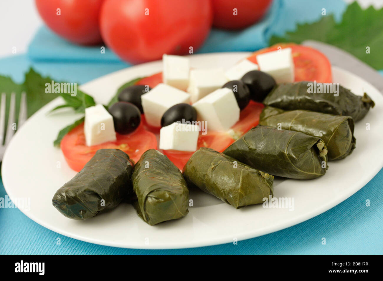 how to make vine leaves for dolmades