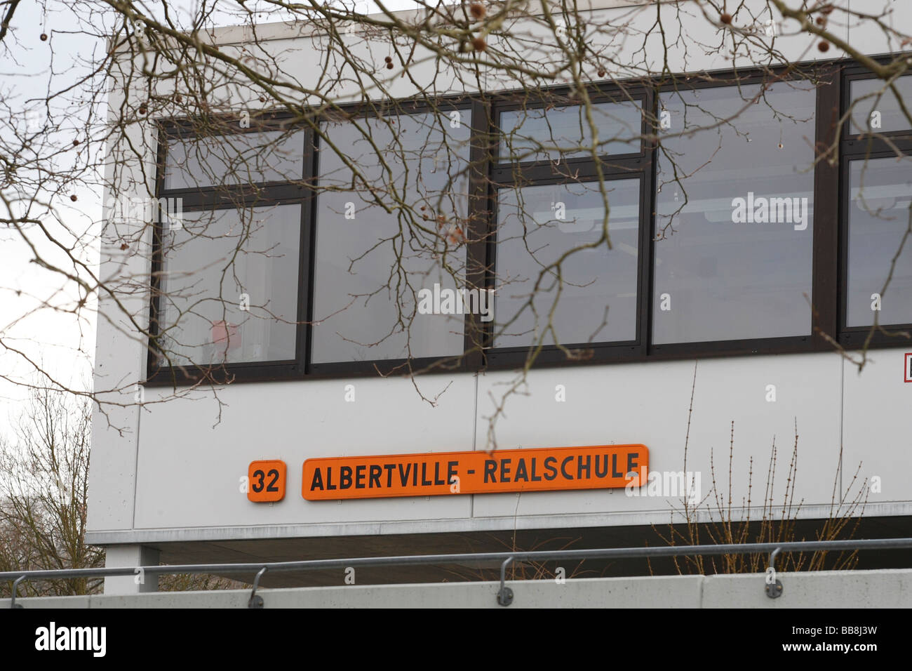 Rampage at Albertville-Realschule school, Winnenden, Baden-Wuerttemberg, Germany, Europe Stock Photo