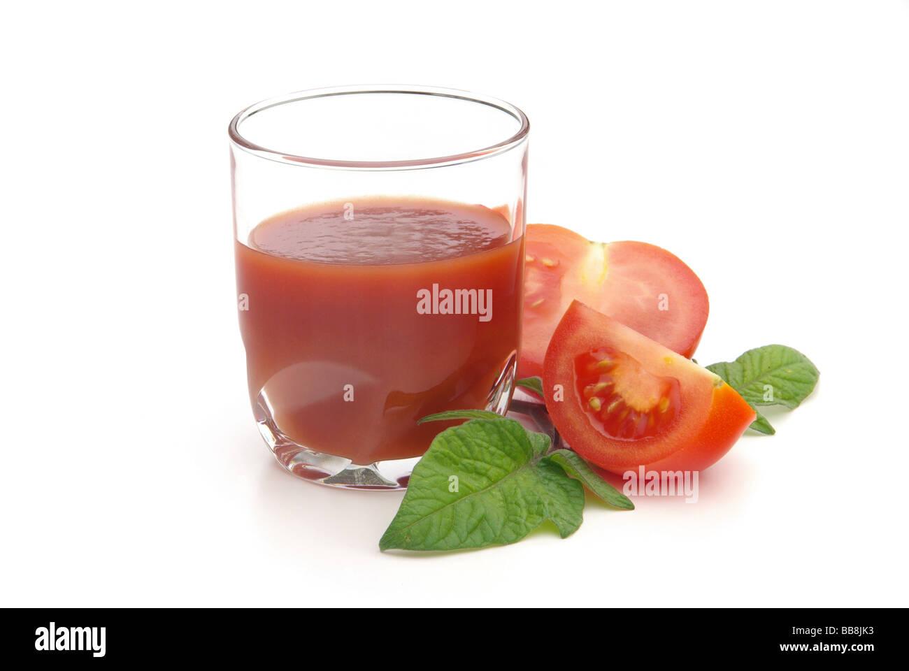 Tomatensaft tomato juice 02 - Stock Image