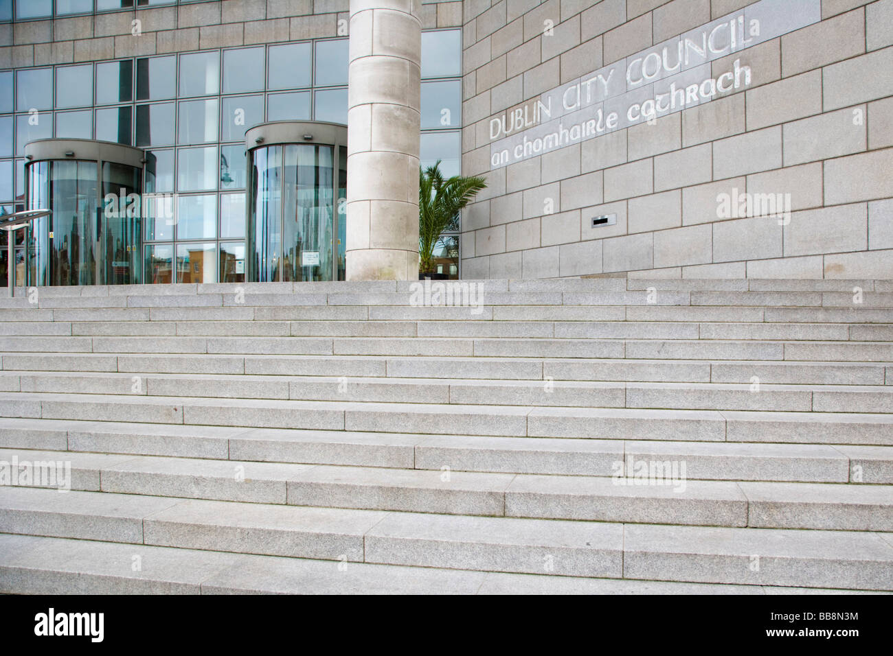 The Civic Offices of Dublin City Council, Wood Quay, Ireland - Stock Image