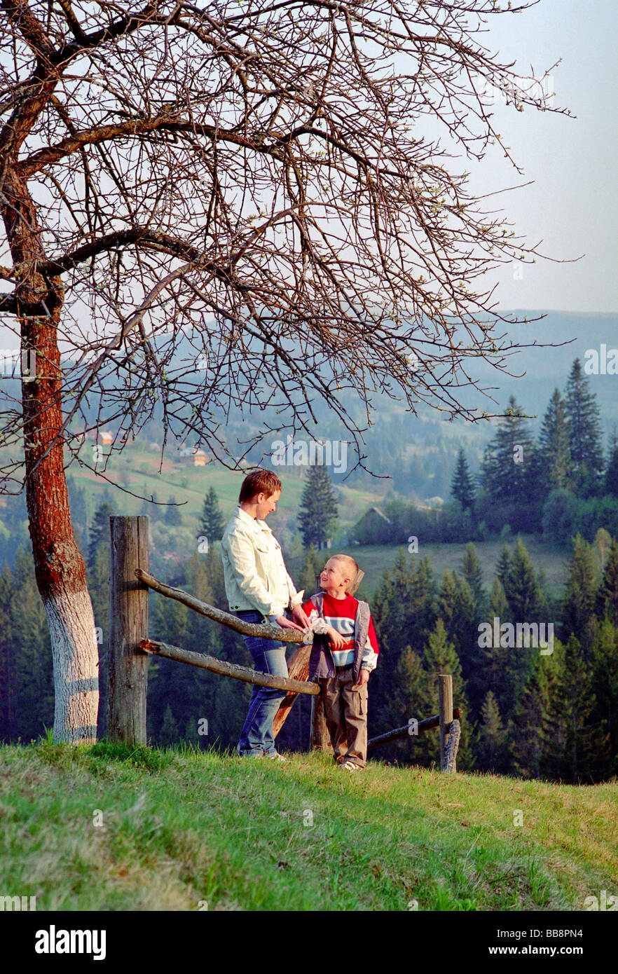 Family Vacation In Carpathian Mountains