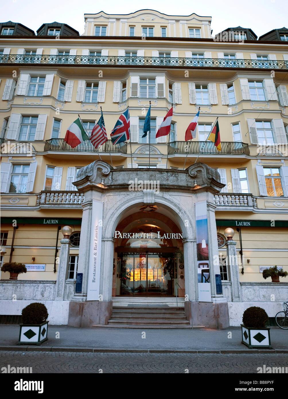 Parkhotel Laurin, Bolzano, Alto Adige, Italy, Europe - Stock Image
