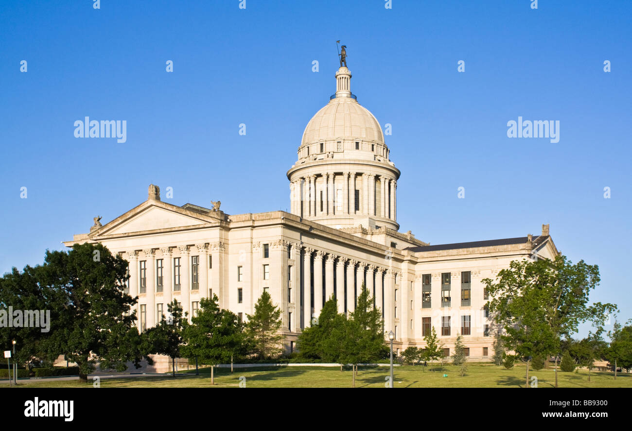 State Capitol of Oklahoma - Stock Image