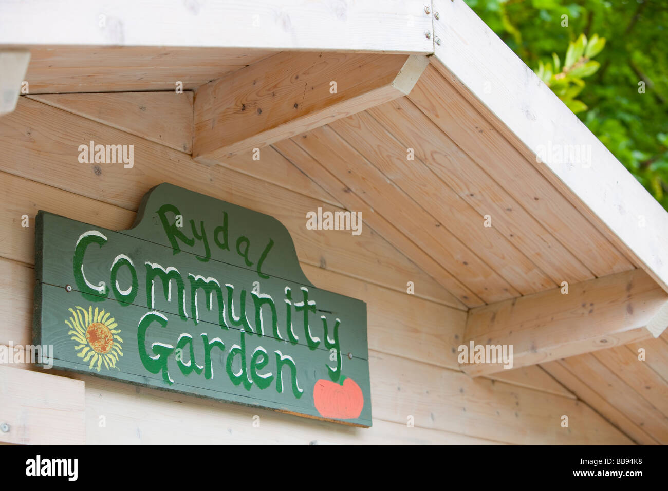 Rydal Hall Community Vegetable Garden in the grounds of Rydal Hall ...