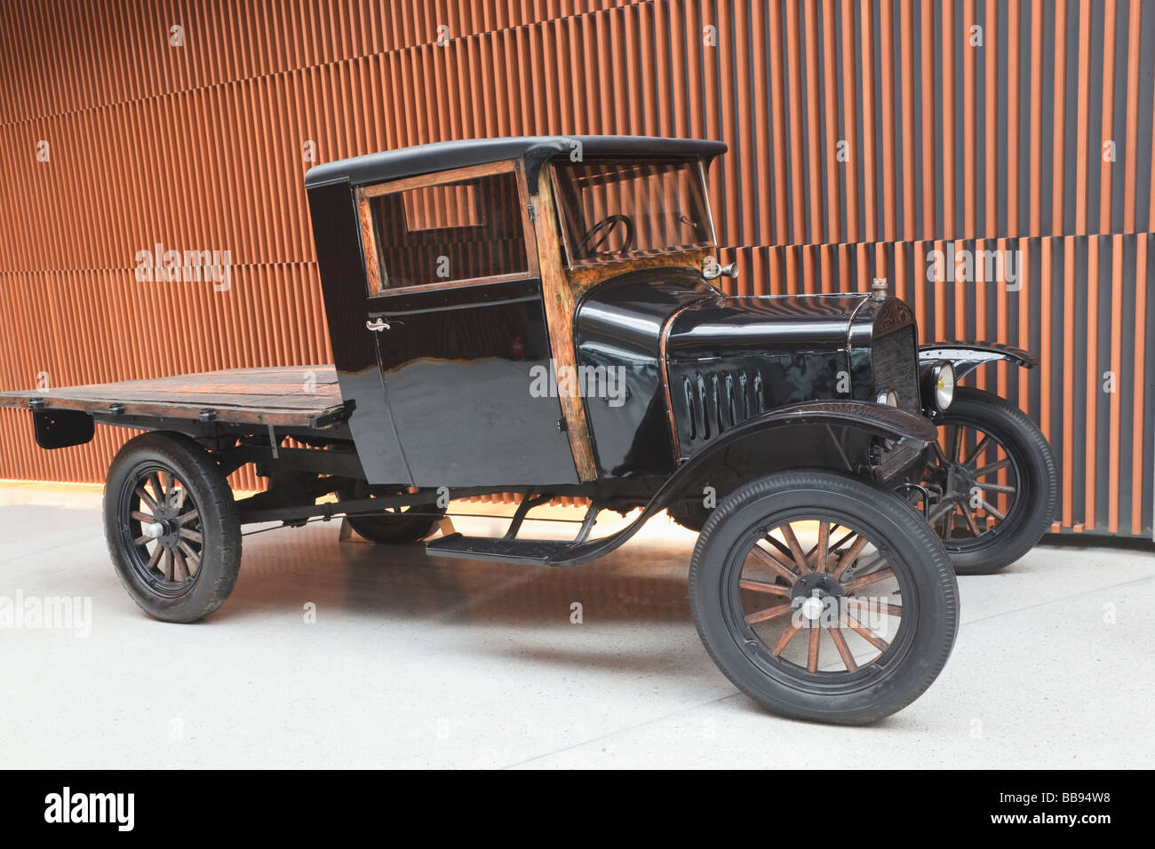 Black Ford Model T Pickup Truck From Circa 1920 Stock Photo Alamy