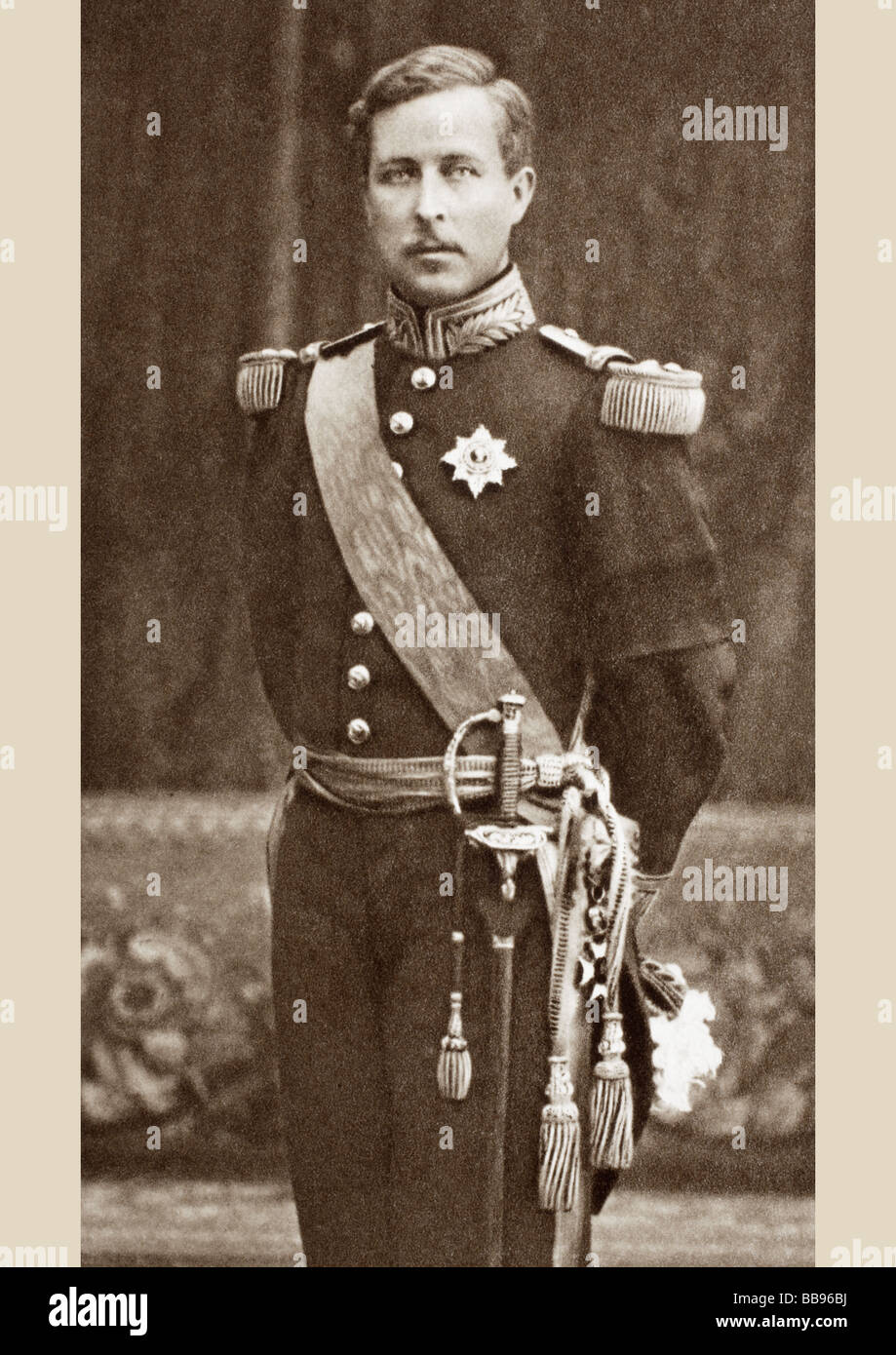 Albert I, 1875 to 1934. Third King of the Belgians.  Born Albert Léopold Clément Marie Meinrad. - Stock Image