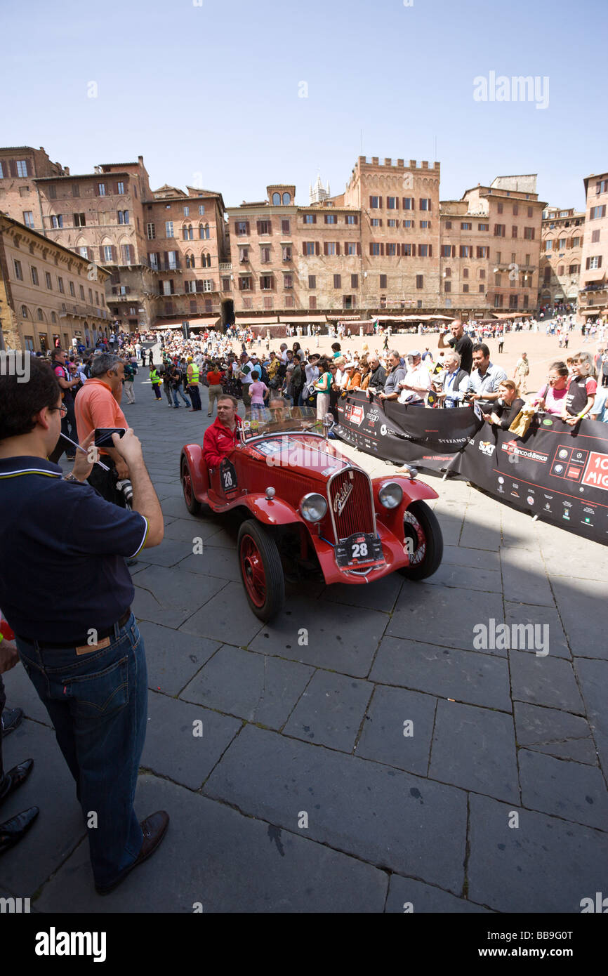 Car Rally In Siena Italy
