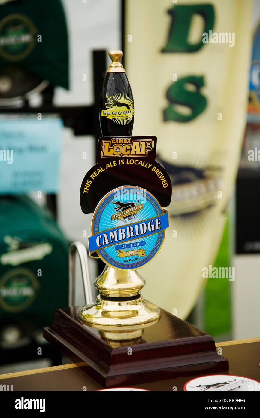 Cambridge beer festival Stock Photo