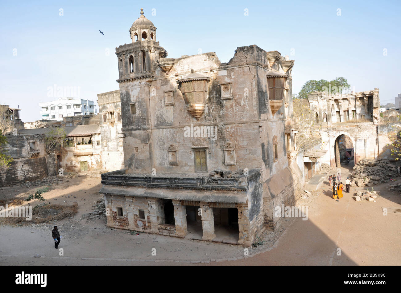 Earthquake Damage in Bhuj. - Stock Image