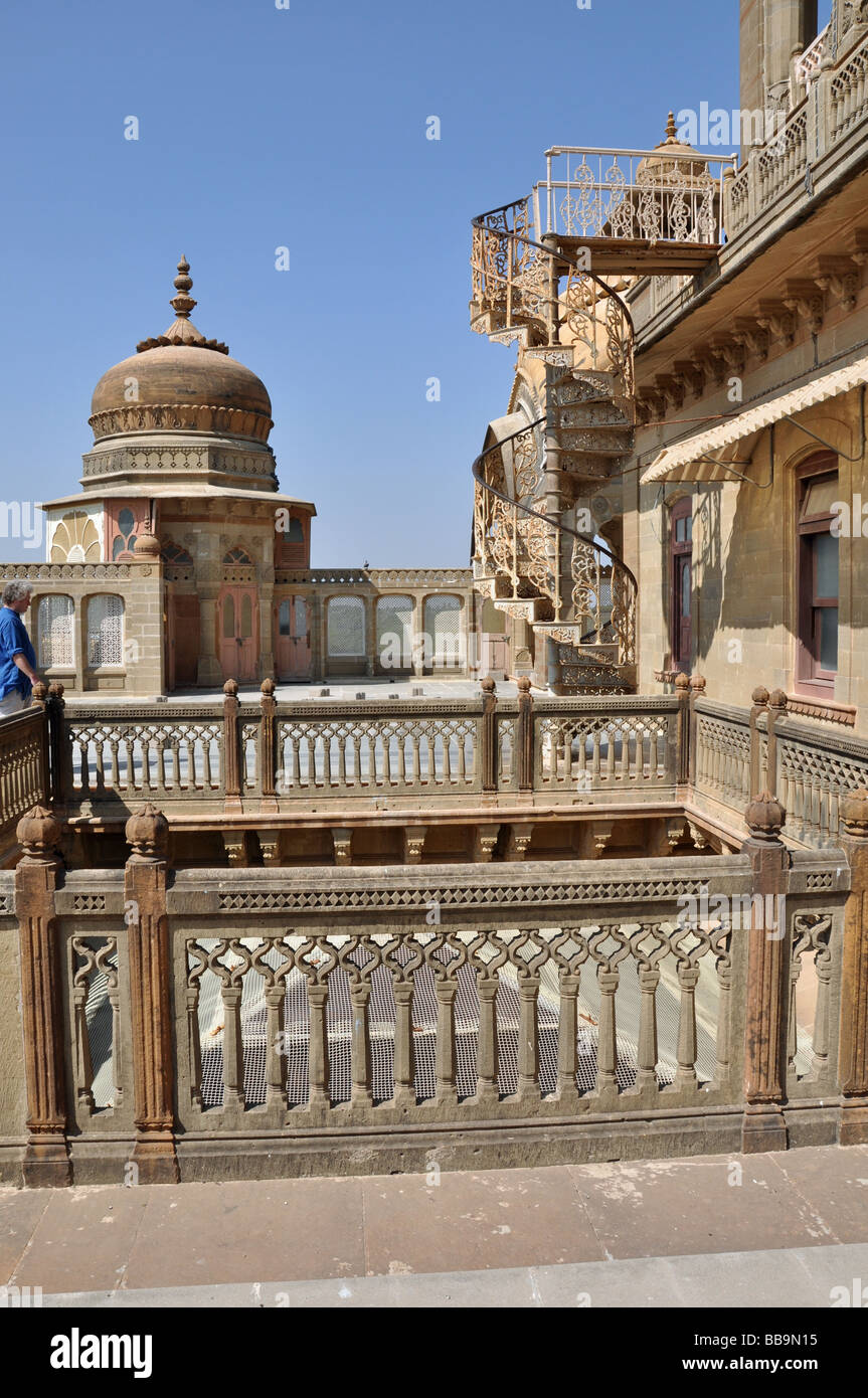 The Palace of Mandvi in Kutch,Gujarat, India - Stock Image